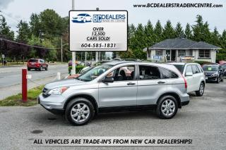 Used 2010 Honda CR-V LX, New Bodystyle, Local, No Declarations, AC, Alloys, Clean for sale in Surrey, BC
