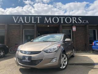 Used 2013 Hyundai Elantra 4dr Sdn Limited Leather Navi for sale in Brampton, ON