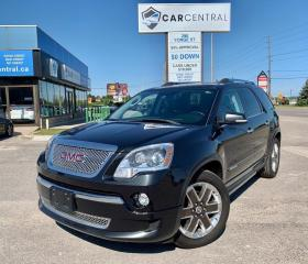 Used 2012 GMC Acadia NO ACCIDENTS | BLUETOOTH | AWD for sale in Barrie, ON