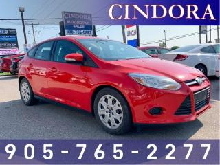 Used 2014 Ford Focus SE, Auto, Heated Seats, Bluetooth for sale in Caledonia, ON