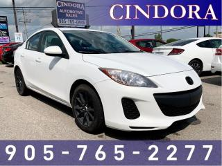 Used 2013 Mazda MAZDA3 GX, Auto, A/C, Sat Radio for sale in Caledonia, ON