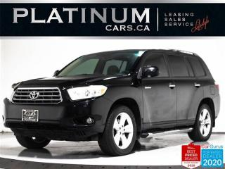 Used 2008 Toyota Highlander Limited, AWD, 7 PASS, KEYLESS, LEATHER, DUAL for sale in Toronto, ON