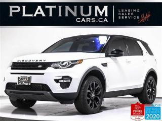 Used 2017 Land Rover Discovery Sport HSE AWD, 7 PASS, NAV, PANO, CAM, HEATED STEERING for sale in Toronto, ON
