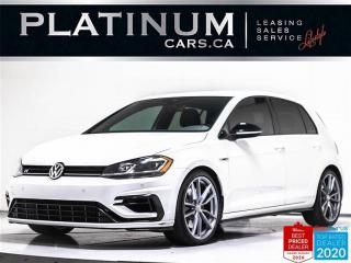 Used 2018 Volkswagen Golf R 292HP, MANUAL, NAV, CAM, HEATED, BLUETOOTH for sale in Toronto, ON
