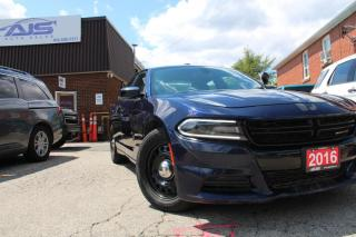 Used 2016 Dodge Charger AWD POLICE INTERCEPTOR for sale in Scarborough, ON