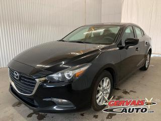 Used 2017 Mazda MAZDA3 SE Cuir GPS Caméra Bluetooth Mags for sale in Trois-Rivières, QC