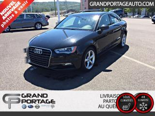 Used 2016 Audi A3 2.0T Komfort quattro berline 4 portes for sale in Rivière-Du-Loup, QC