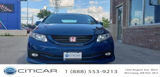 Used 2012 Honda Civic Cpe 2012 HONDA CIVIC Si CPE*AFTMRKT CUSTOM SUSPTN*KIT* for sale in Winnipeg, MB