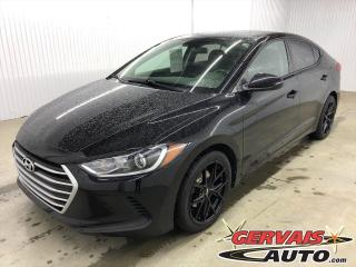 Used 2017 Hyundai Elantra LE MAGS BLUETOOTH A/C *Transmission Automatique* for sale in Shawinigan, QC