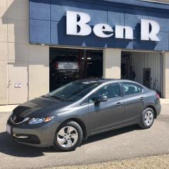Used 2013 Honda Civic LX for sale in Steinbach, MB