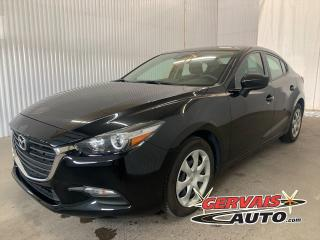 Used 2018 Mazda MAZDA3 GX GPS BLUETOOTH CAMÉRA *Transmission Automatique* for sale in Trois-Rivières, QC