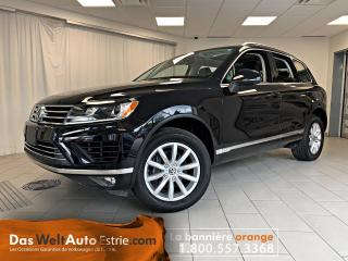 Used 2016 Volkswagen Touareg V6 Sportline, Toit Ouvrant, Navigation for sale in Sherbrooke, QC
