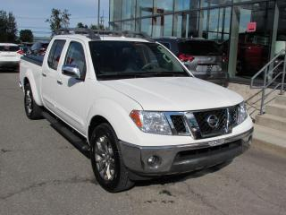 Used 2016 Nissan Frontier SL CREW CAB 4X4 GPS*TOIT*CUIR for sale in Lévis, QC