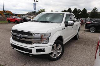 New 2020 Ford F-150 PLATINUM for sale in Tillsonburg, ON