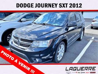 Used 2012 Dodge Journey SXT *7 PLACES* for sale in Victoriaville, QC