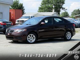 Used 2011 Kia Forte LX + BLUETOOTH + MAGS + CLIMATISEUR + BA for sale in Magog, QC
