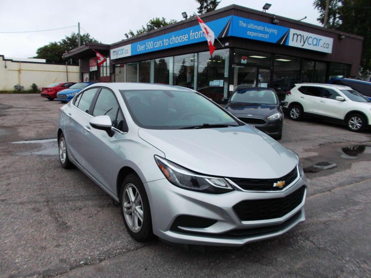 used 2018 chevrolet cruze lt auto heated seats, backup cam, alloys for sale in richmond, ontario carpages.ca