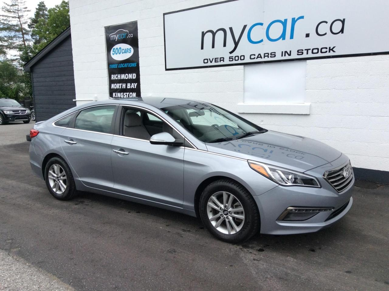 used 2015 hyundai sonata gls heated pwr seat, alloys, backup cam for sale in north bay, ontario carpages.ca