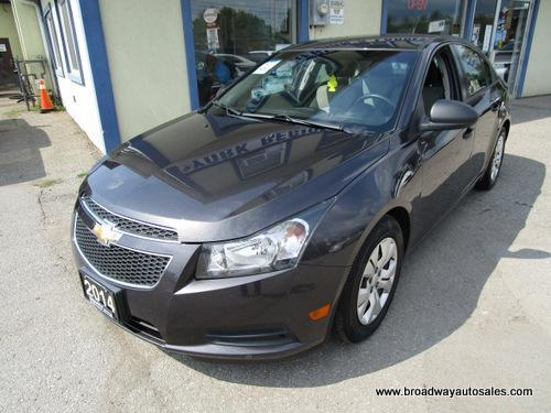 used 2014 chevrolet cruze well equipped ls edition 5 passenger 1.8l - dohc.. cd aux usb input.. bluetooth system.. keyless entry.. for sale in bradford, ontario carpages.ca