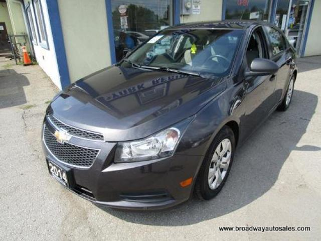 2014 Chevrolet Cruze WELL EQUIPPED LS EDITION 5 PASSENGER 1.8L - DOHC.. CD/AUX/USB INPUT.. BLUETOOTH SYSTEM.. KEYLESS ENTRY..