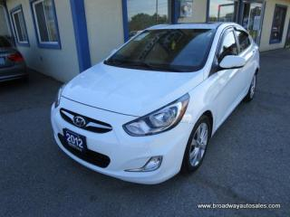 Used 2012 Hyundai Accent FUN TO DRIVE GLS-EDITION 5 PASSENGER 1.6L - DOHC.. HEATED SEATS.. POWER SUNROOF.. BLUETOOTH SYSTEM.. ACTIVE-ECO-PACKAGE.. KEYLESS ENTRY.. for sale in Bradford, ON