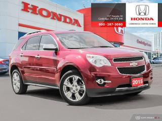 Used 2015 Chevrolet Equinox LTZ ALL WHEEL DRIVE VEHICLE! for sale in Cambridge, ON
