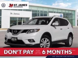 Used 2016 Nissan Rogue S, Clean Carfax, Push to Start, Backup Camera for sale in Winnipeg, MB