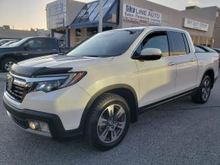Used 2017 Honda Ridgeline Touring NAVIGATION|LEATHER|BLIND SPOT|CREW CAB|CERTIFIED for sale in Concord, ON