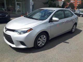 Used 2016 Toyota Corolla BAS MILLAGE CAMÉRA SIEGES CHAUFFANTS for sale in Longueuil, QC