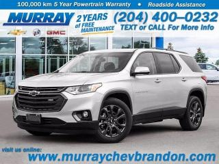 New 2020 Chevrolet Traverse RS for sale in Brandon, MB