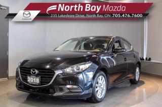Used 2018 Mazda MAZDA3 GS  - Click Here! Test Drive Appts Available! for sale in North Bay, ON