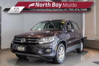 Used 2016 Volkswagen Tiguan Trendline  - Click Here! Test Drive Appts Available! for sale in North Bay, ON