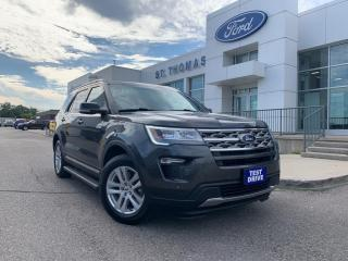 Used 2018 Ford Explorer XLT for sale in St Thomas, ON