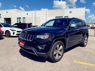 Used 2014 Jeep Grand Cherokee Limited|NAVI|PANOROOF|LEATHER|LOADED|1 OWNER| for sale in North York, ON