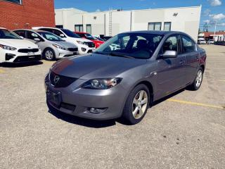 Used 2006 Mazda MAZDA3 4dr Sdn GT Auto/ONLY 82K/ALLOYS for sale in North York, ON