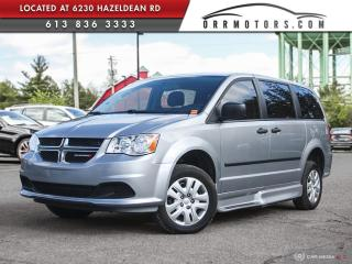 Used 2017 Dodge Grand Caravan CVP/SXT WHEELCHAIR ACESS | A/C | CRUISE | POWER OPTIONS for sale in Stittsville, ON
