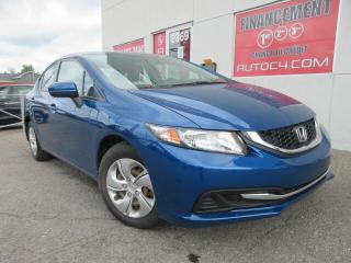 Used 2015 Honda Civic AUTO LX A/C CRUISE BLUETOOTH for sale in St-Jérôme, QC