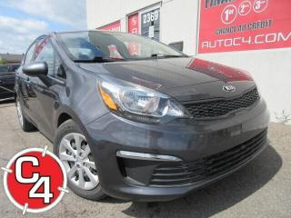 Used 2016 Kia Rio LX+ AUTOMATIQUE A/C CRUISE BLUETOOTH for sale in St-Jérôme, QC