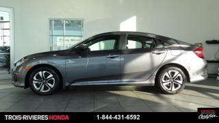 Used 2018 Honda Civic LX + MANUELLE + BLUETOOTH! for sale in Trois-Rivières, QC