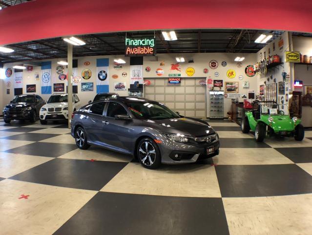 2017 Honda Civic Sedan TOURING AUT0 NAVI LEATHER SUNROOF CAMERA  94K