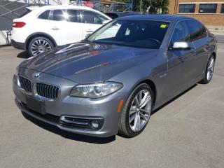 Used 2016 BMW 5 Series 535i xDrive for sale in Regina, SK