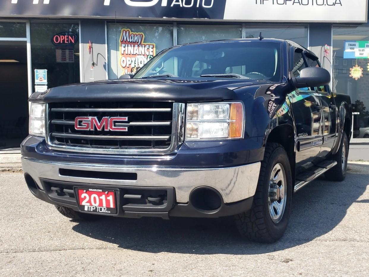 used 2011 gmc sierra 1500 4wd crew cab 143.5 sle for sale in bowmanville, ontario carpages.ca