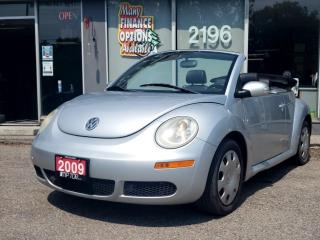 Used 2009 Volkswagen New Beetle Convertible 2dr Auto Trendline for sale in Bowmanville, ON