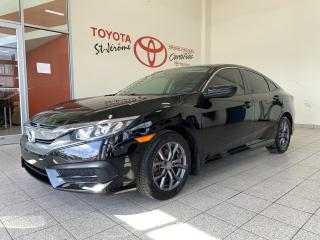 Used 2017 Honda Civic * LX * MAGS * CAMÉRA * AIR * for sale in Mirabel, QC