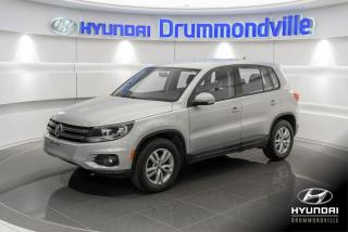 Used 2012 Volkswagen Tiguan COMFORTLINE 4MOTION + GARANTIE + A/C + for sale in Drummondville, QC