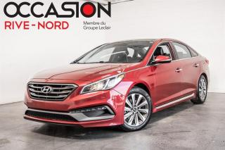Used 2016 Hyundai Sonata Sport Tech NAVI+TOIT.OUVRANT+CAM.RECUL for sale in Boisbriand, QC