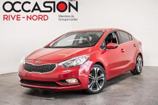 Used 2016 Kia Forte SX NAVI+CUIR+TOIT.OUVRANT for sale in Boisbriand, QC