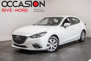 Used 2016 Mazda MAZDA3 GX BLUETOOTH+CAM.RECUL for sale in Boisbriand, QC
