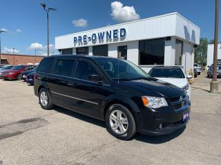 Used 2016 Dodge Grand Caravan Crew Plus for sale in Brantford, ON