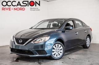 Used 2017 Nissan Sentra S BLUETOOTH+A/C+GR.ELECTRIQUE for sale in Boisbriand, QC